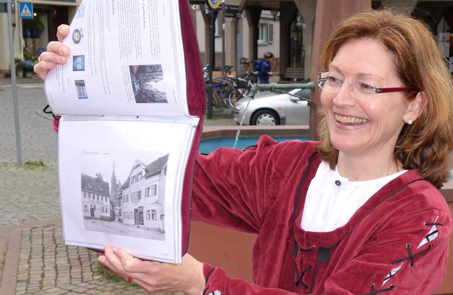 Stadtführerin für Oberursel: Marion Unger