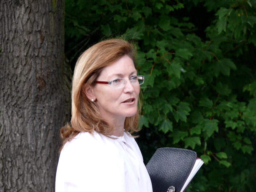 Stadtführerin Marion Uunger